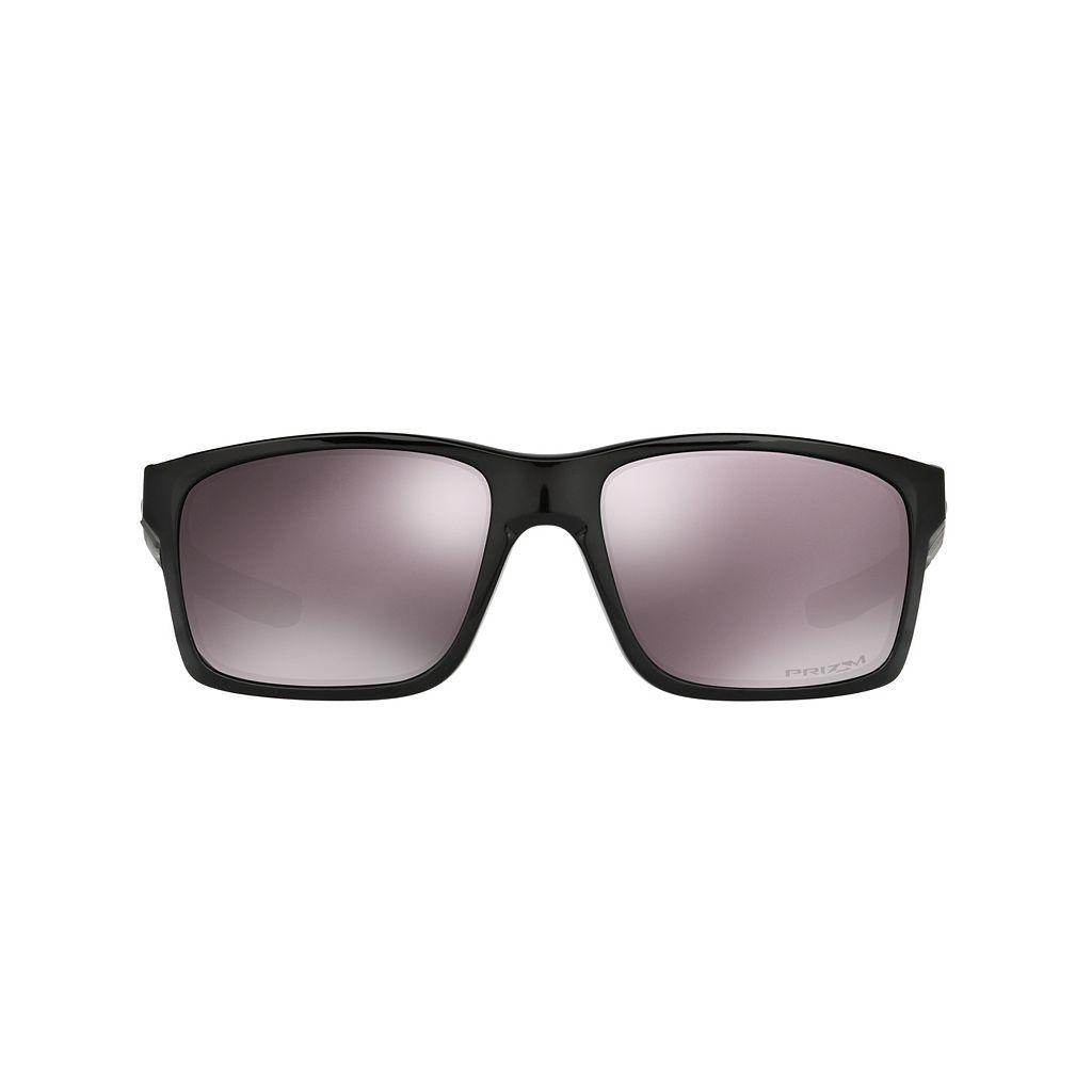 Oakley Mainlink OO9264 57mm Rectangle Black Iridium PRIZM Daily Polarized Sunglasses