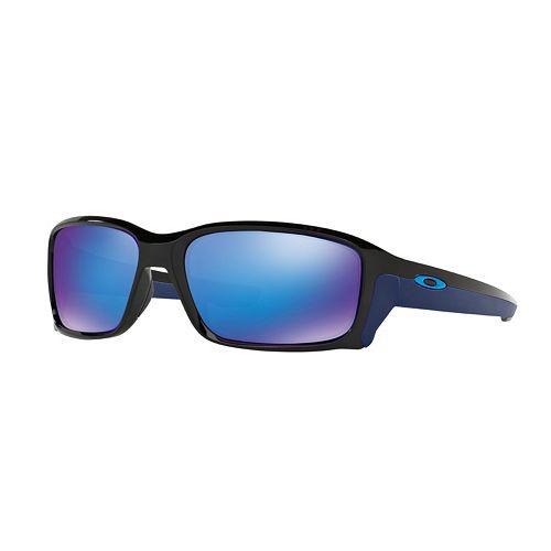 Oakley Straightlink OO9331 58mm Rectangle Wrap Sunglasses