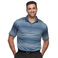 Big & Tall Grand Slam MotionFlow Jacquard Performance Golf Polo