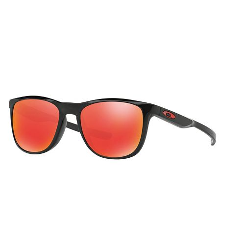 Oakley Trillbe X OO9340 52mm Square Ruby Iridium Polarized Sunglasses