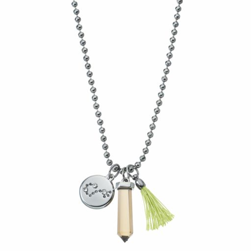 Simply Vera Vera Wang Jet Zodiac Charm Necklace