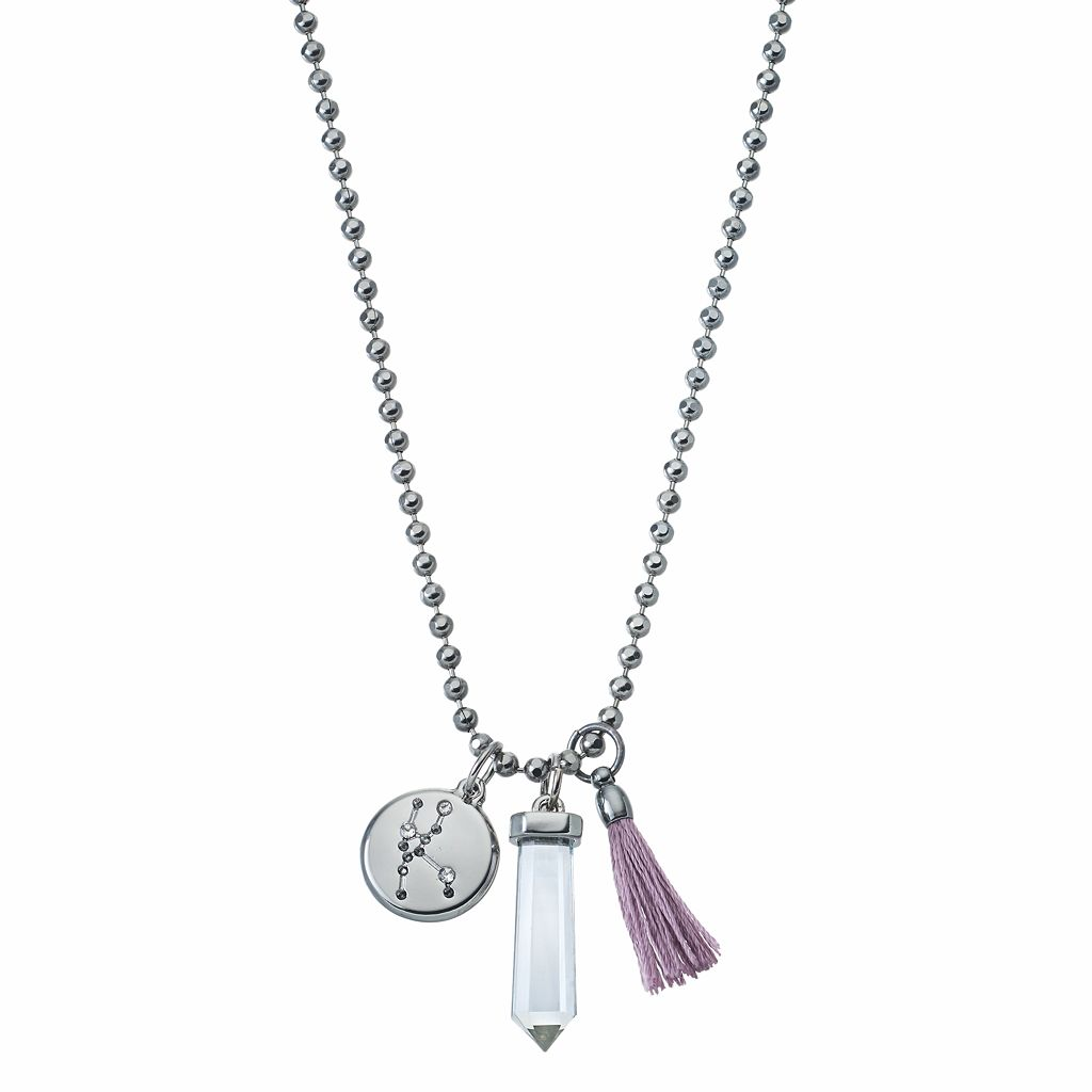 Simply Vera Vera Wang Jet Zodiac Charm Necklace