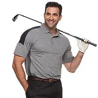 Men's Grand Slam MotionFlow 360 Colorblock Performance Golf Polo