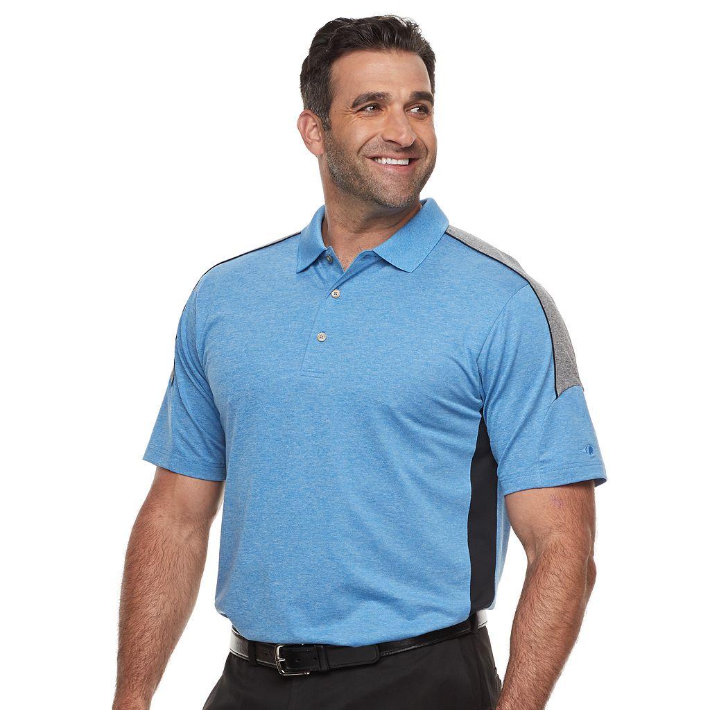 Men's Grand Slam MotionFlow 360 Colorblock Performance Golf Polo