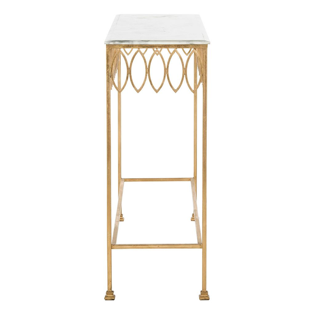 Safavieh Couture Natalia Marble Top Console Table