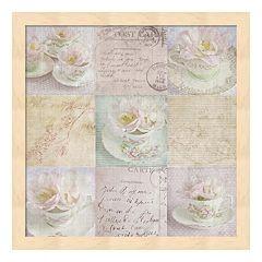 Vintage Tea Framed Wall Art