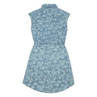 Girls 7-16 Levi's Short Sleeve Woven Denim Dress