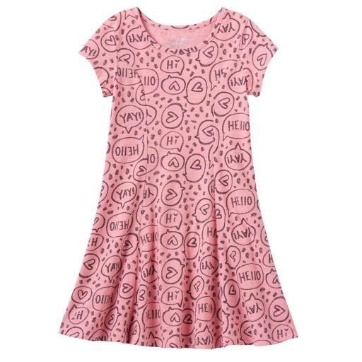 Girls 4-10 Jumping Beans® Princess Seam Skater Dress
