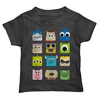 Disney / Pixar Character Squares Toddler Boy Graphic Tee