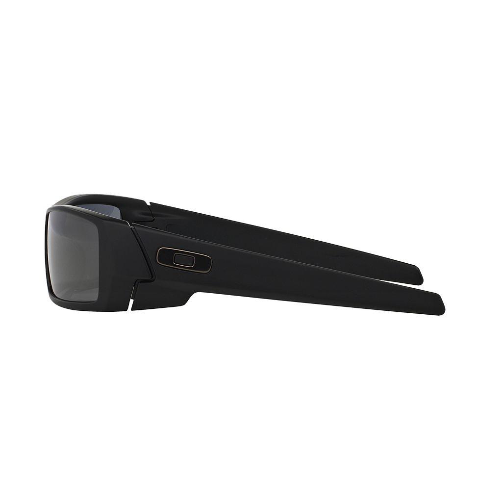 Oakley Gascan OO9014 60mm Rectangle Wrap Sunglasses
