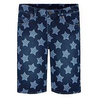 Girls 7-16 Levi's Supersoft Star Jean Bermuda Shorts
