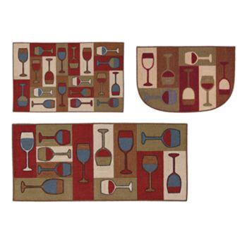Mohawk® Home Vino Toss Kitchen Rug