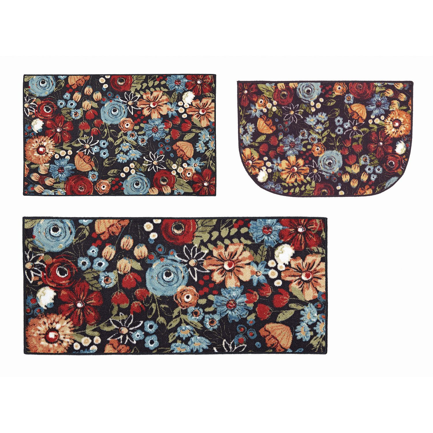 Delicieux Mohawk® Home Chalkboard Floral Fun Kitchen Rug