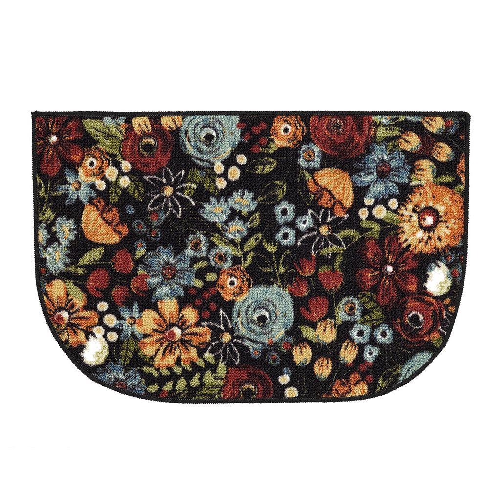 Mohawk® Home Chalkboard Floral Fun Kitchen Rug