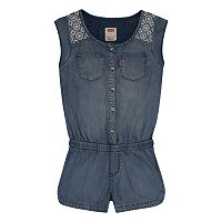 Girls 7-16 Levi's Lightweight Denim Romper