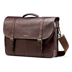 Samsonite Colombian Leather Flapover Laptop Case 577a8e9ed