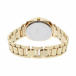 Women's Crystal Watch & Geometric Stone Bracelet Set