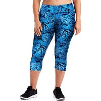 Plus Size Just My Size Capri Leggings