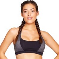 Colosseum Bras: Sprightly Colorblock Medium-Impact Sports Bra BCTB30565