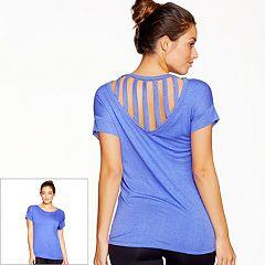 Women's Colosseum Moxie Strappy Back Top
