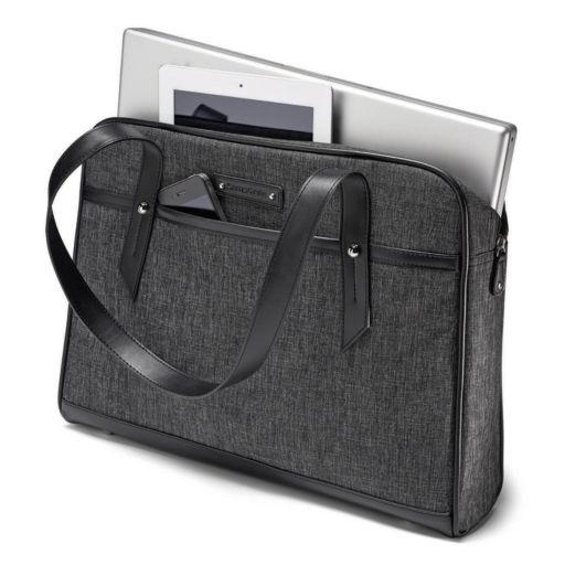 Samsonite Slim Heather Laptop Briefcase