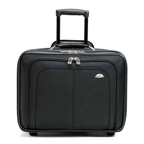 Samsonite Business One Mobile Office Wheeled Laptop Briefcase