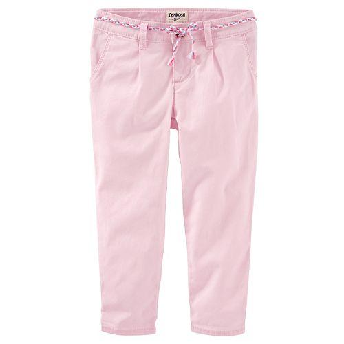 Girls 4-8 OshKosh B'gosh® Slim Slouch Stretch Twill Pants
