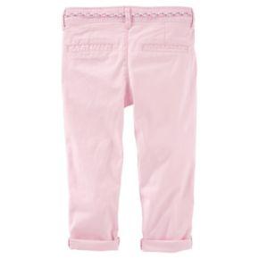Toddler Girl OshKosh B'gosh® Slim Slouch Stretch Twill Pants