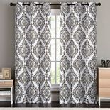 VCNY 2-pack London Blackout Window Curtains