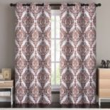 VCNY 2-pack London Blackout Window Curtain