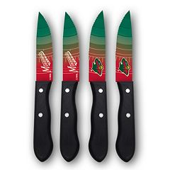 Minnesota Wild 4-Piece Steak Knife Set