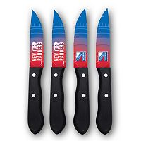 New York Rangers 4-Piece Steak Knife Set