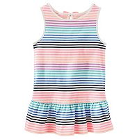 Girls 4-8 OshKosh B'gosh® Striped Drop-Waist Tunic