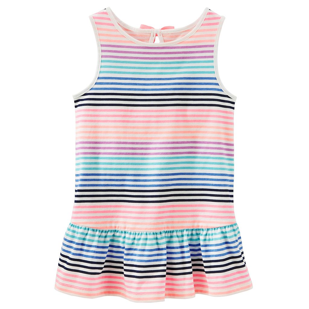 Toddler Girl OshKosh B'gosh® Striped Drop-Waist Tunic