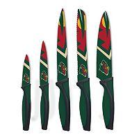 Minnesota Wild 5-Piece Cutlery Knife Set