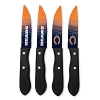 Chicago Bears 4-Piece Steak Knife Set