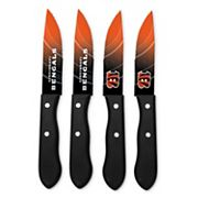 Cincinnati Bengals 4 pc Steak Knife Set