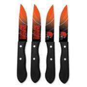 Cleveland Browns 4-Piece Steak Knife Set