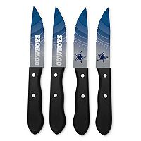Dallas Cowboys 4-Piece Steak Knife Set
