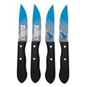 Detroit Lions 4 pc Steak Knife Set