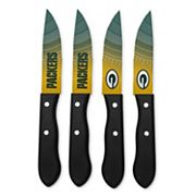 Green Bay Packers 4 pc Steak Knife Set