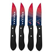 Houston Texans 4 pc Steak Knife Set
