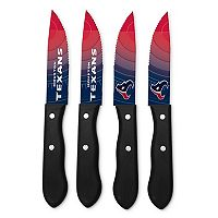 Houston Texans 4-Piece Steak Knife Set