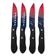 Houston Texans 4-Piece Steak Knife Set