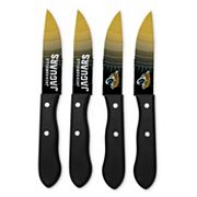 Jacksonville Jaguars 4 pc Steak Knife Set