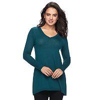 Women's Apt. 9® V-Neck Tunic Sweater