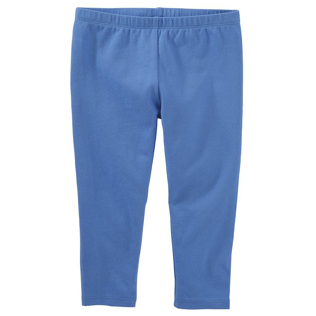 Girls 4-8 OshKosh B'gosh® Solid Crop Capri Leggings