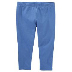 Girls 4-8 OshKosh B'gosh® Solid Crop Capri Leggings