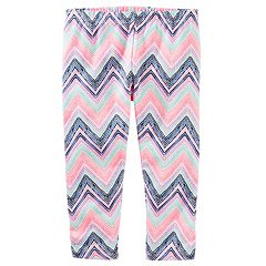 Girls 4-8 OshKosh B'gosh® Patterned Crop Capri Leggings