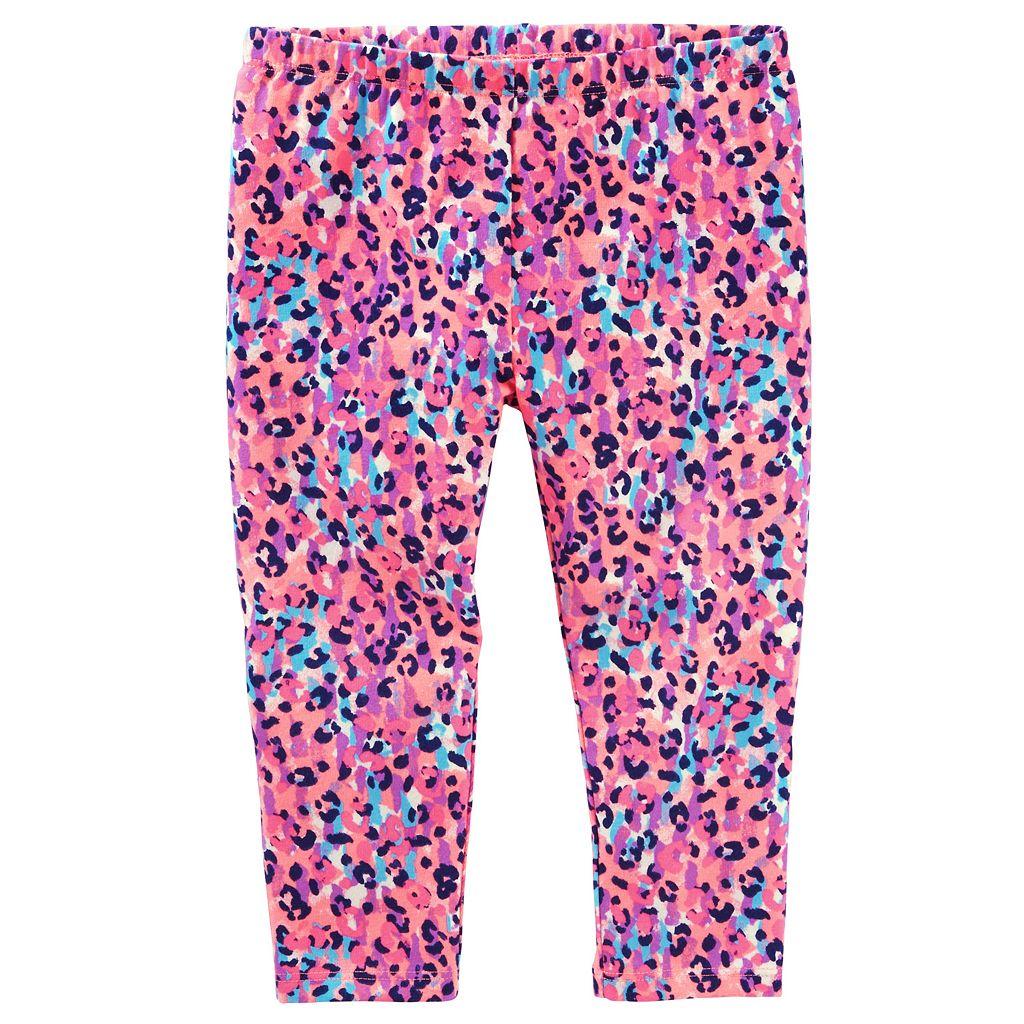Toddler Girl OshKosh B'gosh® Patterned Crop Capri Leggings